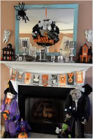 Halloween Glass Ornaments by Ideas Spooky Mantel Design Ideas With Halloween Theme To Make