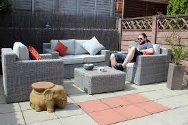 B Q Bistro Table And Chairs Rattan Garden Furniture B Q Interior Design