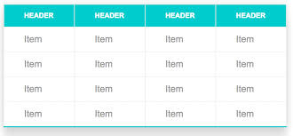 Css Responsive Table by Css Snippets How To Style A Table