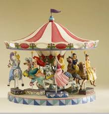 jim shore disney traditions princess carousel display base out