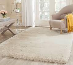 Pier One Round Rugs by Beige Plush Pile Shag Rug Arctic Collection Safavieh Com
