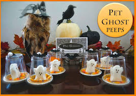 pennywise happy halloween easy edible pet ghosts