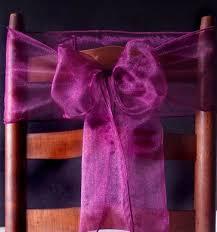 chair bows marsala burgundy wine organza chair sashes bows table