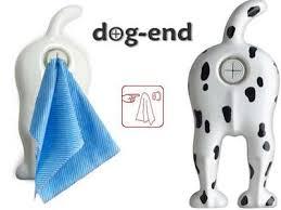 bums as bathroom fixtures dog end towel holder amuses inner child