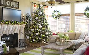 download wallpapers fireplace christmas tree new year 2017