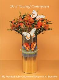 butterfly u0026 flower centerpieces my pracrical baby shower guide