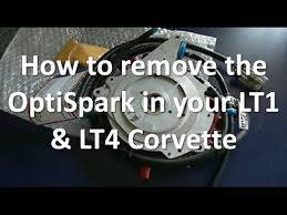 how to remove the optispark distributor on your lt1 u0026 lt4 corvette