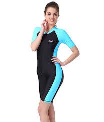Sun Protective Cycling Clothing Amazon Com Bikman One Piece Snorkeling Surfing Swim Suit Short