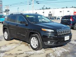 2015 jeep cherokee light bar certified used 2015 jeep cherokee latitude 4x4 for sale in new