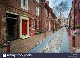 Elfreth S Alley by Elfreth U0027s Alley In Old City Philadelphia Pennsylvania Stock