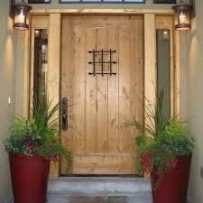 exterior cool home design ideas with single dark blue door