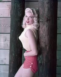 jayne mansfield wedding dress jayne mansfield s 1950s style includes shorts pointy bra
