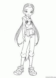 coloring page hay lin