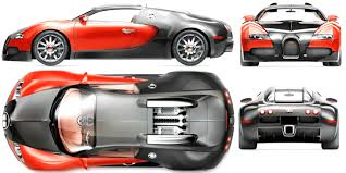 bugatti veyron blueprint download free blueprint for 3d modeling