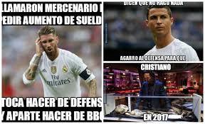 Memes De Ronaldo - memes del real madrid málaga elogios a sergio ramos y burlas a