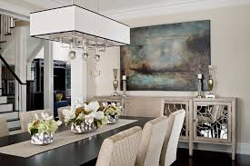 Light And Dark Art Ideas Dining Room Traditional With Round - Buffet kitchen table