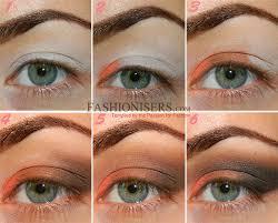 eyeshadow tutorial for brown skin orange brown smokey eye makeup tutorial fashionisers