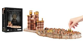jan168015 3d game of thrones kings landing puzzle previews world