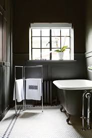 small black and white bathrooms ideas bathroom bathroom with rectangle black clawfoot bathtub and