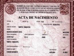 formato de acta de nacimiento en blanco gratis ensayos formato acta de nacimiento imagui