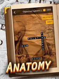 Anatomy And Physiology Games And Puzzles Crossword Anatomy Crossword Game On The App Store