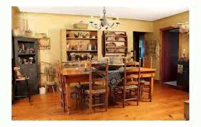 Primitive Dining Room by Primitive Decorating Ideas Youtube