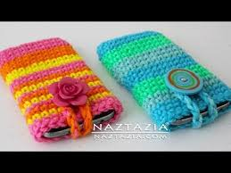 Cute Ways To Decorate Your Phone Case Diy Tutorial How To Crochet Easy Mobile Cell Phone Pouch Case