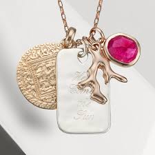 Custom Necklace Pendants Create Your Own Personalised Necklace Monica Vinader