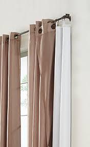 Blackout Curtains Liner Home Decorators Collection Blackout Curtain Liner White 45x77