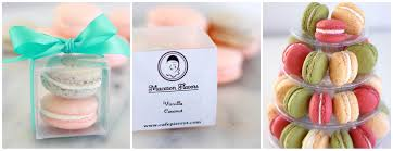 macaron wedding favors macarons wedding favors custom flavors and colors sussex county nj