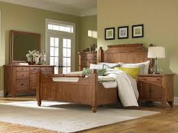 Attic Designs Bedroom Earthy Wood Bedroom Set In Attic Interior With King