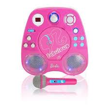 light up karaoke machine barbie karaoke 851244010375 karaoke machine and cd cd g player