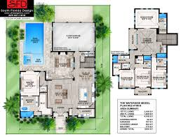 coastal cottage floor plans south florida designs waterside 2 story coastal house plan