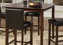 Pub Dining Room Tables Dining Room Modern Bar Height Kitchen Table Wonderful Tall