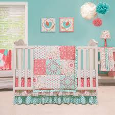 Nursery Bedding Sets For Girl by Home Design The Peanut Shell Mila 4 Piece Crib Bedding Set