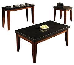steve silver company montibello rectangular 3 piece coffee table