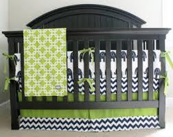 Elephant Crib Bedding For Boys Elephant Nursery Bedding Set Navy Blue Orange Gray Crib