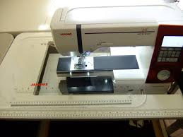gidget sewing machine table the free motion quilting project janome horizon update