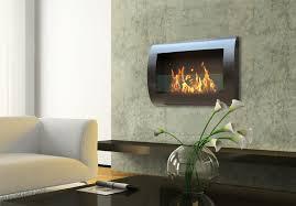 wall ethanol fireplace fireplace