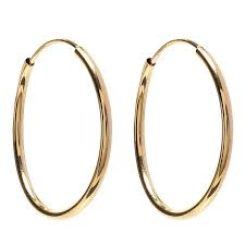 endless hoop earrings greenwich st collection 7 8 inch endless hoop earring greenwich