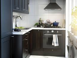 Contemporary Kitchen New Contemporary Ikea Kitchen Cabinets IKEA - Ikea black kitchen cabinets