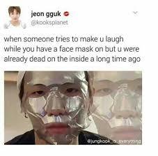 Face Mask Meme - bts memes army s amino
