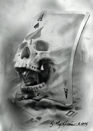 skull ace spades scull pinterest aces spades tattoo and tatting