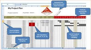 Excel 2010 Project Plan Template 7 Gantt Chart Excel 2010 Ganttchart Template