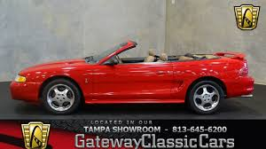 mustang of indianapolis 1994 ford mustang cobra indianapolis 500 pace car replica stock