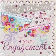 congratulations engagement card congratulations on your engagement greeting e card picsmine