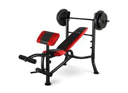 weight and bench set competitor pro weight bench with 100 lb weight set big 5