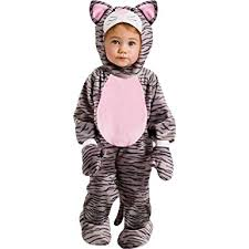 Baby Halloween Costumes 3 6 Months Amazon Fun Stripe Kitten Toddler Costume Clothing