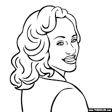 Free Online Coloring Pages Thecolor Jackie Robinson Coloring Page