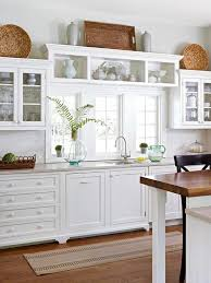 white kitchen cabinets decorating ideas basket styling above cabinets kitchen inspiration